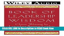 PDF] The Book of Leadership Wisdom (Wiley Audio) Full Online