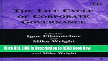 [Popular Books] The Life Cycle of Corporate Governance (Corporate Governance in the New Global