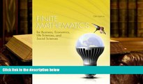 READ ONLINE  Finite Mathematics for Business, Economics, Life Sciences, and Social Sciences (13th