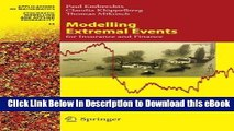 DOWNLOAD Modelling Extremal Events: for Insurance and Finance (Stochastic Modelling and Applied