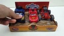 Unboxing Radiator Springs Racers 500 Off-Road Rally Race Disney Cars Pixar Lightning Mcque