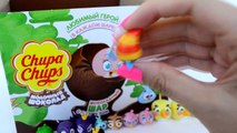 Angry Birds Stella сюрпризы Чупа Чупс как Киндеры ( Unboxing Surprise Eggs Angry Birds Chu