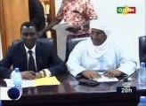 Rencontre du président de la commission d'organisation d'entente nationale avec les acteurs impliqués