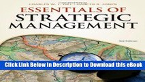 [Read Book] Essentials of Strategic Management (Available Titles CourseMate) Kindle
