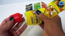 4 Surprise Lollipops (Pirulitoy) Angry Birds - 4 Colombinas Sorpresa Pirulitoy Angry Birds.