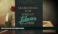 PDF [DOWNLOAD] Searching for Great Ideas: Readings Past and Present Thomas Klein For Ipad
