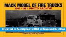 Books Mack Model CF Fire Trucks 1967-1981 Photo Archive Free Books