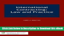 EPUB Download International Contracting. Law and Practice, Third Edition Kindle