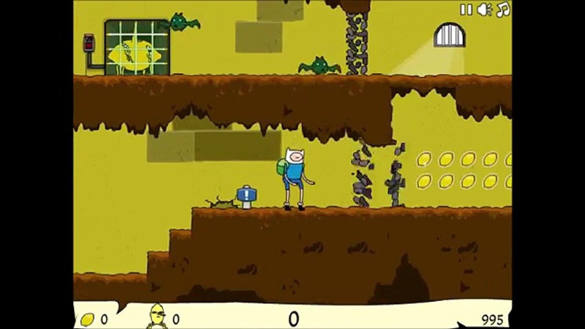 Adventure Time - Lemon Break - Adventure Time Games