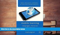 BEST PDF  Mobile Learning: Languages, Literacies and Cultures (New Language Learning and Teaching