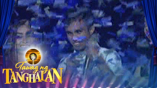 Tawag ng Tanghalan: Carlmalone Montecido strongly holds the golden microphone