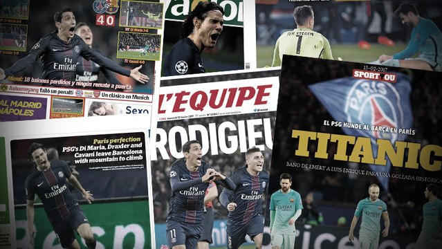 La presse salue le carton du PSG et détruit littéralement le Barça !