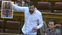 El rifirrafe entre Podemos y el PP en el Congreso