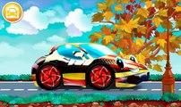 Mi Pequeño Lavado de Autos por McPeppergames tractor y el autobús de la escuela a la jugabilidad de la demo