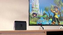 Publicité Nintendo Switch - Fifa 18 & Dragon Quest Heroes I-II