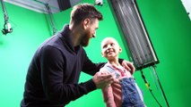 The behind the scenes of the SJD Pediatric Cancer Center spot with Leo Messi