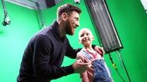 'Making of' del spot del SJD Pediatric Cancer Center con Leo Messi