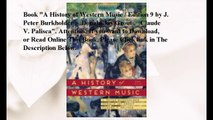 Download A History of Western Music / Edition 9 ebook PDF