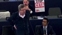 Le CETA adopté au Parlement Européen malgré l'opposition de Marine Le Pen, Jean-Luc Melenchon et Yannick Jadot