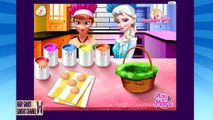 Elsa and Anna Eggs Painting ♥ Frozen Easter Eggs ♥ Frozen Games for Kids ♥