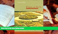 Download [PDF]  Form And Style, Eleventh Edition (Form and Style, 11th ed) Carole Slade Full Book