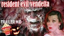 RESIDENT EVIL VENDETTA 2017 trailer filme ANIMATED MOVIE horror movie filmes de terror