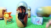 LION KING Lion Guard Nesting Eggs SURPRISE Russian Dolls ~ RARE Lion King Finger Puppet & Kion Toys