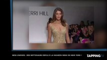 Iris Mittenaere sexy défile à la Fashion Week de New York