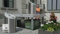 A Swiss city is using an ingenious system to deal with trash