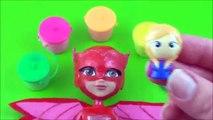 Learn Colors PJ Masks Owlette! Disney Jr, Kids Slime Surprise Toys, PJ Masks Heroes, Les Pyjamasques