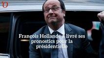 Présidentielle : les pronostics (éclairés ?) de François Hollande