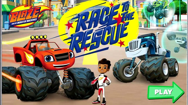 Blaze And The Monster Machines | Blaze Race to the Rescue | Nickelodeon Blaze Monster Mach