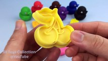 Jugar y Aprender los colores con plastilina Patos fruto de animales moldes Divertido Ideas Creativas para los niños
