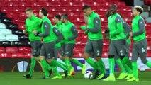 Florentin Pogba: «Repartir avec quelque chose d'Old Trafford»