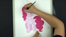 RAINBOW DASH Speed Drawing - My Little Pony Watercolor Painting