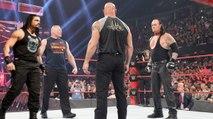 2017 New Match Goldberg sv Roman Reigns Vs Brock Lesnar vs Undertaker face to face wrestlemania 33 Feb 16, HD