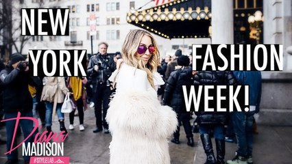 My Exciting New York Fashion Week 2017 Experience VLOG -Style Lab