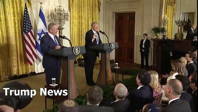President Donald Trump and Prime Minister Netanyahu hold a joint news conference Today 02/15/17.