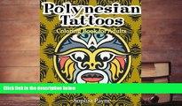 PDF  Polynesian Tattoos: Coloring Boook for Adults (polynesian coloring book) (Volume 2) Pre Order