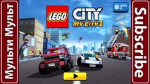 LEGO Police. Police Car. Cartoon about LEGO | New Monster Truck Sport Car LEGO Game My Cit