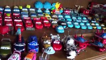 our Disney Pixar Cars diecst collection over 1,000 models (unsere Disney Pixars Cars Sammlung)