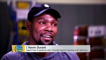 Kevin Durant Interview on Going Back to Oklahoma City and Russell Westbrook