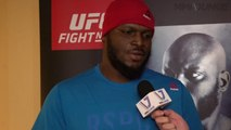 Derrick Lewis 'not fighting to be Superman' at UFC Fight Night 105