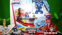 Transformers Rescue Bots Optimus Prime Elite Rescue Heatwave & Deep Water Rescue High Tide