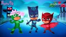 #Pj Masks #Peppa Pig #Catboy #Owlette #Gekko #Daddy Pig #Mother Pig #Funny Video For Toddl
