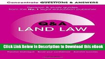 EPUB Download Concentrate Questions and Answers Land Law: Law Q A Revision and Study Guide