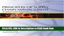 [Popular Books] Principles of Supply Chain Management: A Balanced Approach Full Online