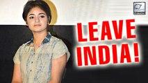 Dangal Actress Zaira Wasim SLAMMED Again   LehrenTV