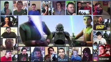 Star Wars Rebels Season 3 Trailer Reactions Mashup