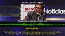 Acusa David Landeros a líder estatal de pedirle 20mil - Audios Filtrados